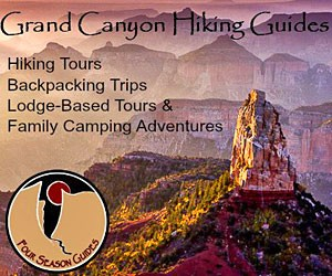 Four Season Guides in Grand Canyon NP - Since 1999, Four Season Guides has been offering guided day hikes and multi-day backpacking adventures throughout Grand Canyon. Select from camp & hike and lodge & day-trip packages. Join us for the trip of a lifetime.