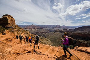 Grand Canyon Hiking Tours from O.A.R.S. : Expertly-guided 4-day/night hiking tours along the Park's most iconic routes and attractions. Nightly lodging, including the Phantom Ranch (in the Canyon). Amazing experience