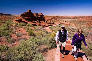 O.A.R.S. Grand Canyon Hiking Adventures :: Expertly-guided 4-day/night hiking tours along the Park's most iconic routes and attractions. Nightly lodging, including the Phantom Ranch (in the Canyon). Amazing experience.