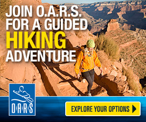 O.A.R.S. Grand Canyon Hiking Adventures : Expertly-guided 4-day/night hiking tours along the Park's most iconic routes and attractions. Nightly lodging, including the Phantom Ranch (in the Canyon). Amazing experience.