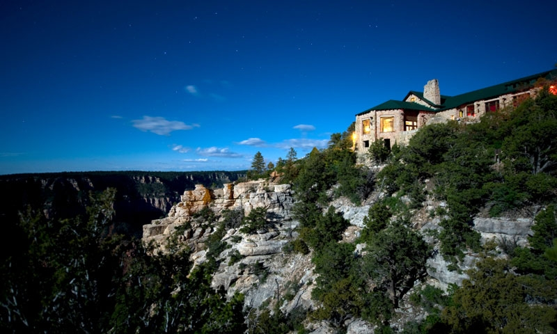 The Grand Canyon Lodge
