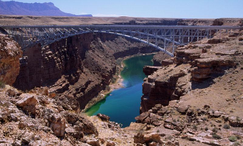 Navajo Bridge Colorado River In Arizona Alltrips