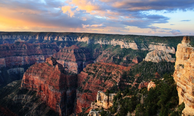 North Rim Of The Grand Canyon Parkway Alltrips