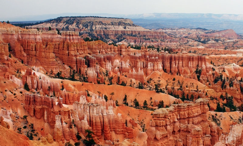 Overlooking Bryce Canyon National Park