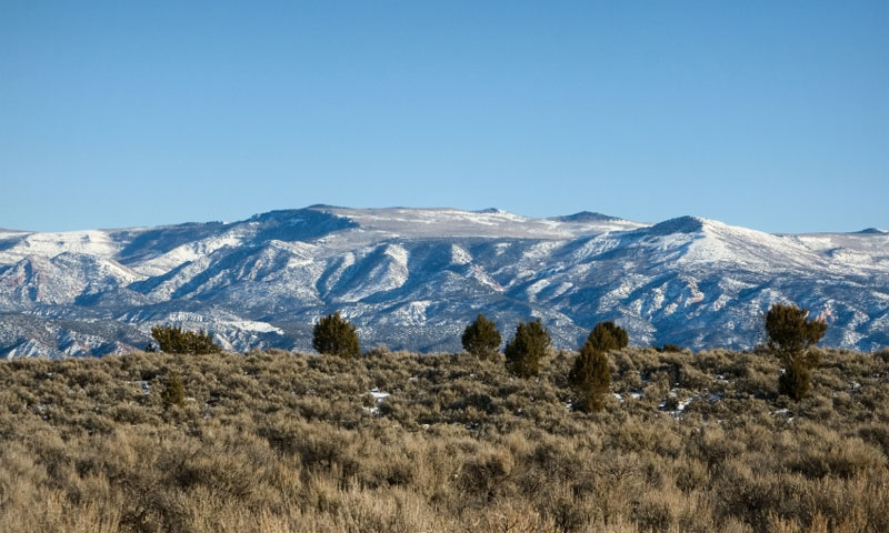 Mountains near Cedar City Utah