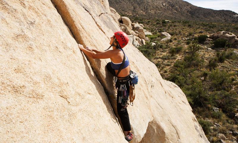 Climbing in Joshua Tree National Park