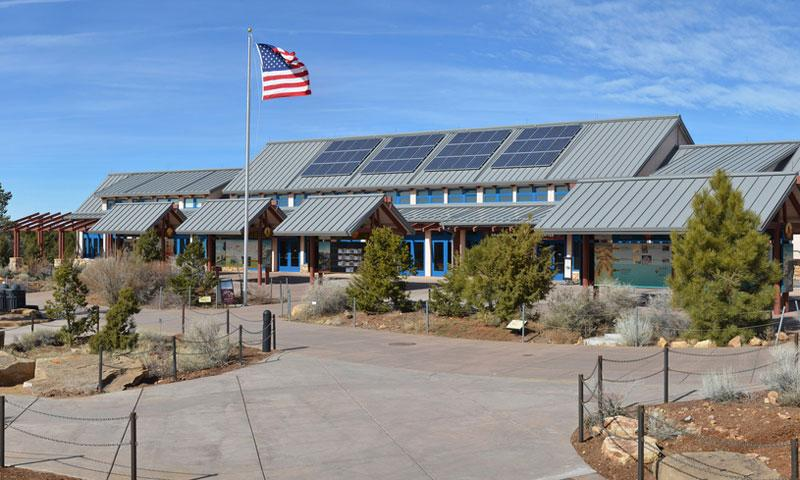 Grand Canyon Visitor Center on the South Rim