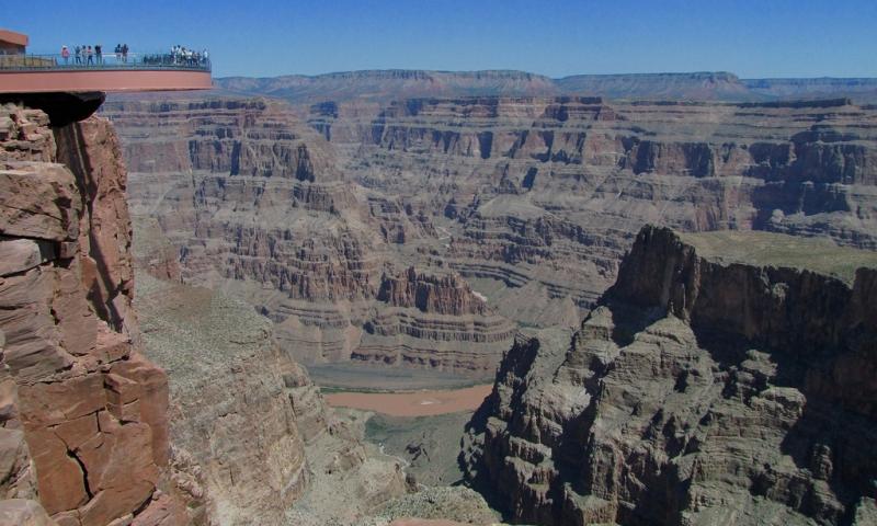 Grand Canyon Skywalk Glass Bridge Sky Walk Walkway