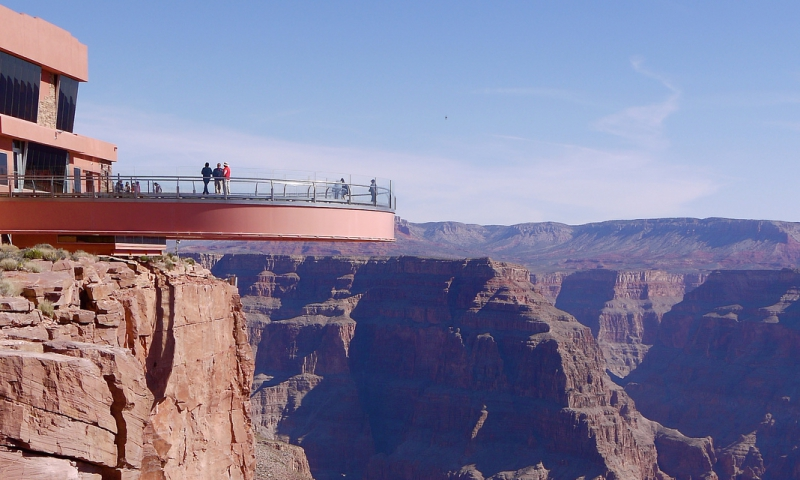 Grand Canyon Skywalk Glass Bridge Sky Walk Walkway Alltrips