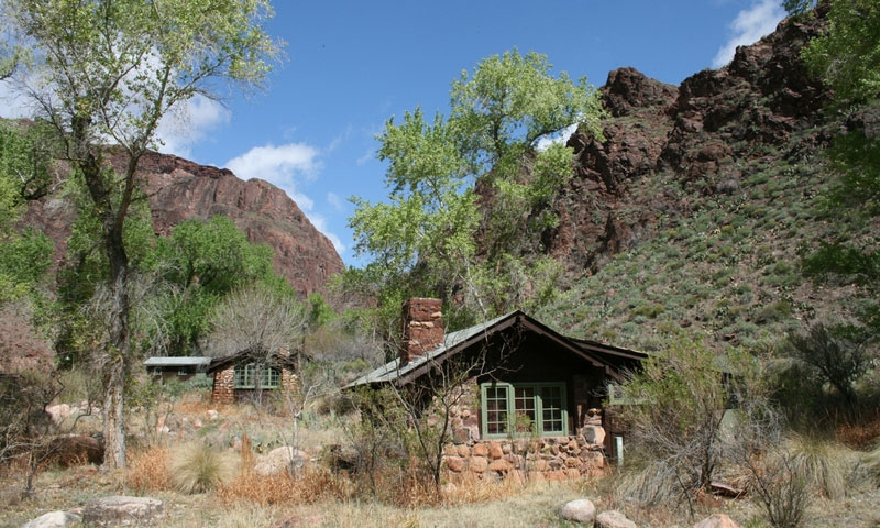 Phantom Ranch at the bottom of the Grand Canyon