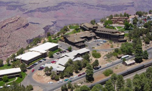 South Rim Village with El Tovar Hotel