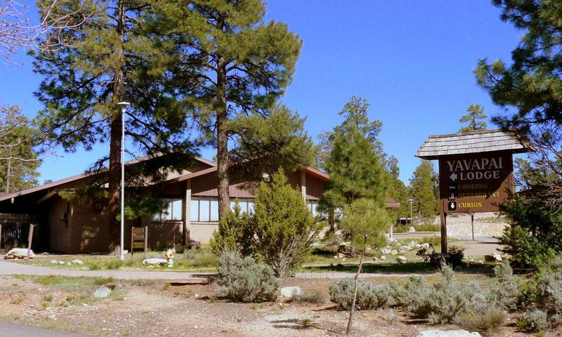 Yavapai Lodge in the Grand Canyon