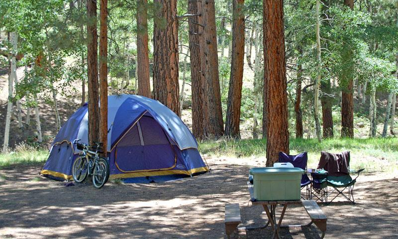 North Rim Campground in Grand Canyon National Park
