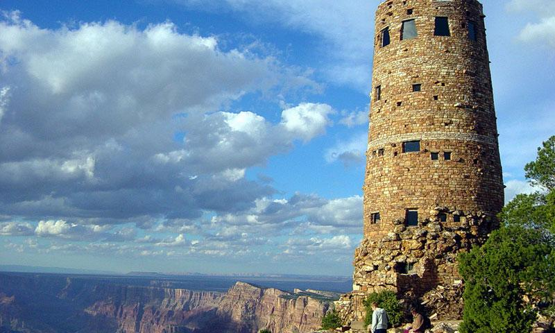 Desert View Watchtower on the South Rim