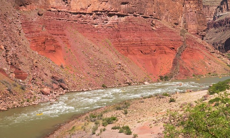 Rafting Hance Rapid Colorado River