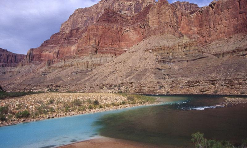 Confluence with Little Colorado River
