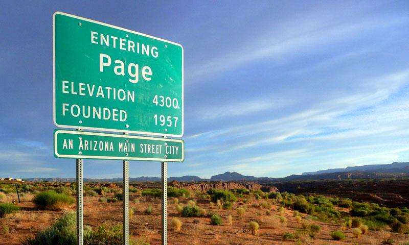 Photo Page: Page Arizona: AZ Vacations, Real Estate, Lodging