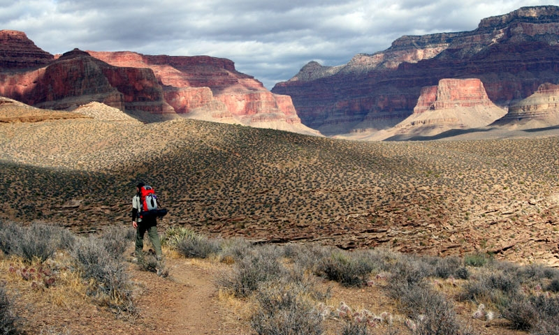 Backpacking the Tonto Trail in the Grand Canyon