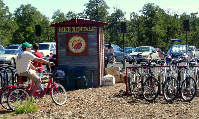 Bike Rentals on the South Rim