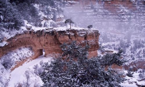 Grand Canyon Winter Vacation