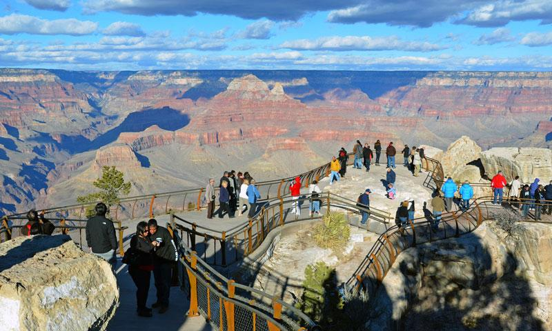 South Rim Trail Grand Canyon National Park Hiking Alltrips