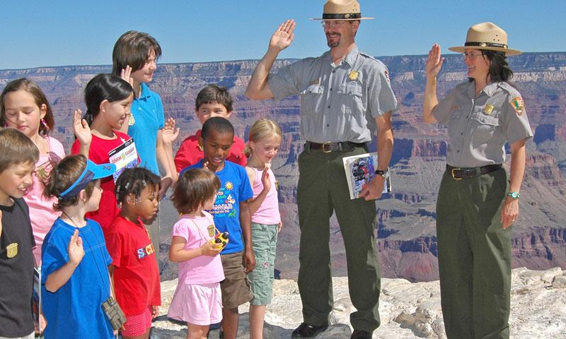 Junior Ranger Program in Grand Canyon National Park