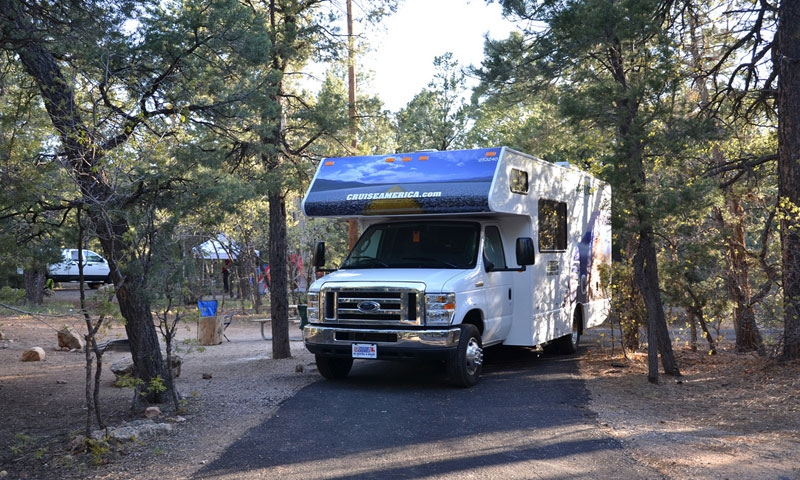 Mather Campground on the South Rim